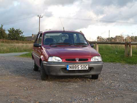 One morning in January 2006 the Rover 100 (Metro) overheated on the way to